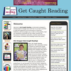 Get Caught Reading, sponsored by AAP