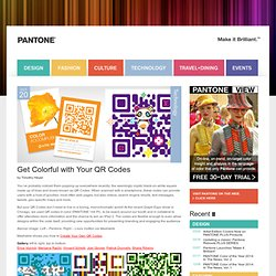 Get Colorful with Your QR Codes