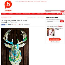 Get Crafty With Maps | The New Home Ec