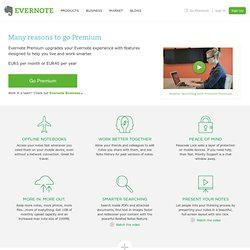 Make your world even more notable | Evernote Corporation