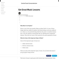 Get Great Music Lessons