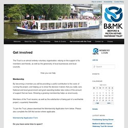 B&MK Waterway Trust