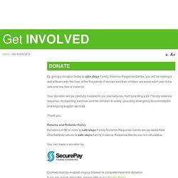 Get INVOLVED - Safe Steps