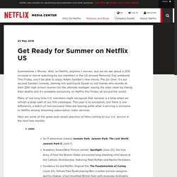 Get Ready for Summer on Netflix US