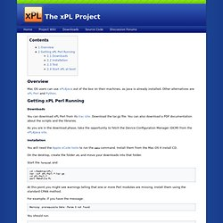 Get Started on Mac Os - XPLProject