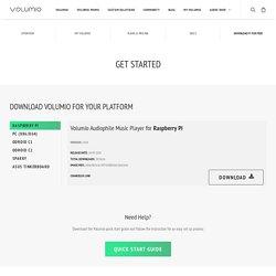 Get Started - Volumio