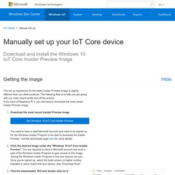 Get Started - Windows IoT