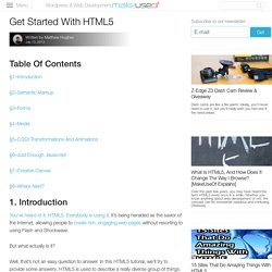 HTML5 Tutorial for Beginners