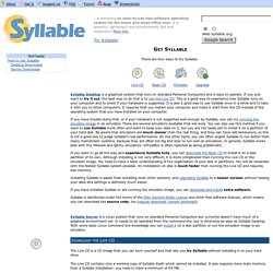 Syllable