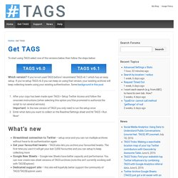 Get TAGS – TAGS