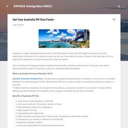 Get Your Australia PR Visa Faster