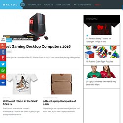 Cool Gadgets, New Gadgets, Tech News and Geek Design [Walyou]