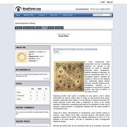 getclockparts's Blog - BlackPlanet.com