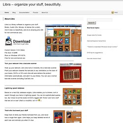 Libra | DVD, Book, Audio CD, Game library organizer software