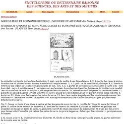 Planche de l'Encyclopédie : une sucrerie antillaise [source] [image]