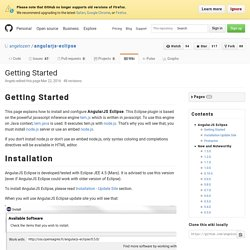 Getting Started · angelozerr/angularjs-eclipse Wiki