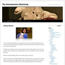 The Animatronics Workshop