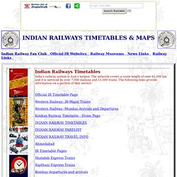 Getting Around Indian Railways