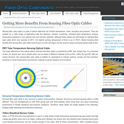 Getting More Benefits From Sensing Fiber Optic Cables