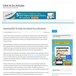 Getting SEO To Help You Build Your Business