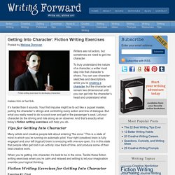 Getting Into Character: Fiction Writing Exercises