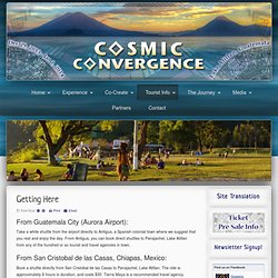 Getting Here - Cosmic Convergence Festival