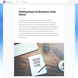 Getting Down to Business, from HomeOB Blog