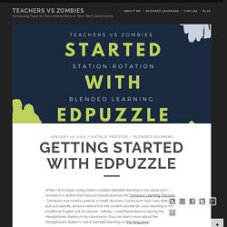Getting Started with EdPuzzle – Teachers Vs Zombies