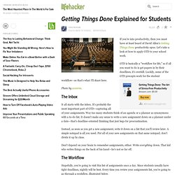 Getting Things Done Explained for Students