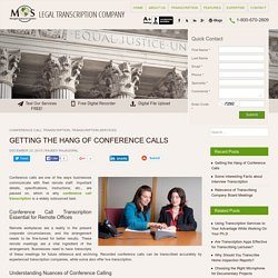 How to Manage Conference Calls