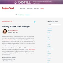 Getting Started with Nokogiri | Engine Yard Ruby on Rails Blog