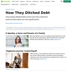 Getting Out of Debt Stories