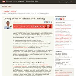 Getting Better At Personalized Learning