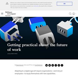 Getting practical about the future of work