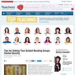 Tips for Getting Started with Guided Reading