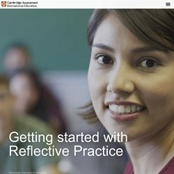 Getting started with Reflective Practice