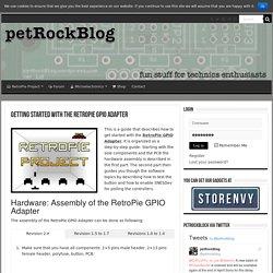 Getting Started with the RetroPie GPIO Adapter – petRockBlog