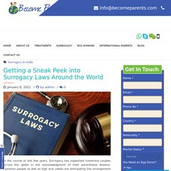 Getting a Sneak Peek into Surrogacy Laws Around the World