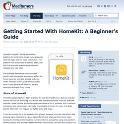 Getting Started With HomeKit: A Beginner's Guide