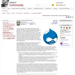 Getting Started with Drupal - O'Reilly Broadcast