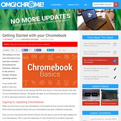 Getting Started with your Chromebook