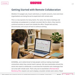 Getting Started with Remote Collaboration