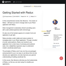 Getting Started with Redux - Course by @dan_abramov