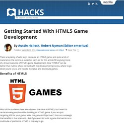 Getting Started With HTML5 Game Development