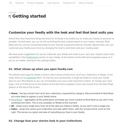 Getting started – Feedly