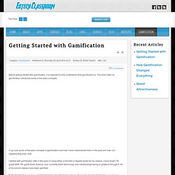 Getting Started with Gamification