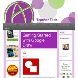 Getting Started with Google Draw