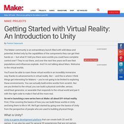 Getting Started with Virtual Reality: An Introduction to Unity