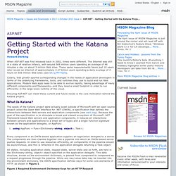 ASP.NET - Getting Started with the Katana Project
