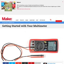 Getting Started with Your Multimeter